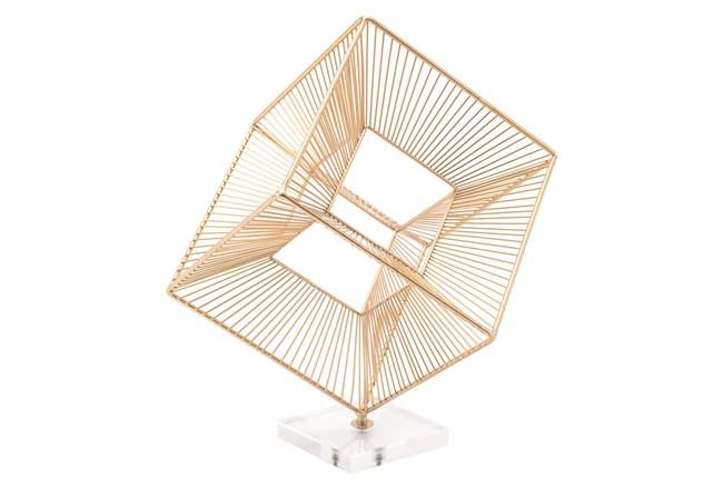 Cuadrado Figurine Gold - 360
