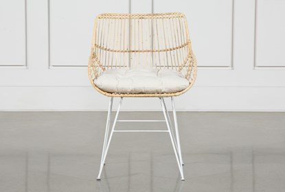 Pleasant Rattan Bucket Dining Chair Machost Co Dining Chair Design Ideas Machostcouk