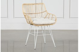 Rattan Bucket Dining Chair