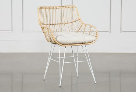 Rattan Bucket Dining Chair