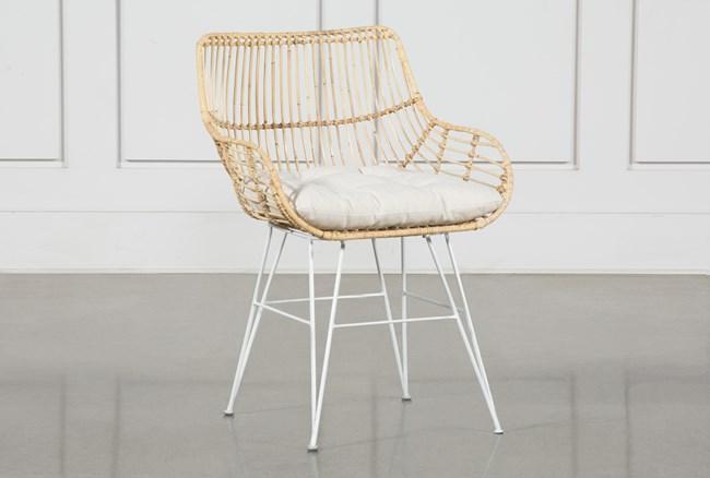 Rattan Bucket Dining Chair - 360