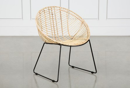 Rattan Cocoon Dining Chair