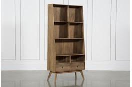 7 Hole 2 Drawer Bookcase