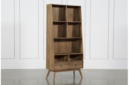 7 Hole 2 Drawer Bookcase - Main