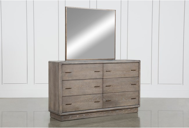 Pavilion Dresser/Mirror By Nate Berkus And Jeremiah Brent  - 360