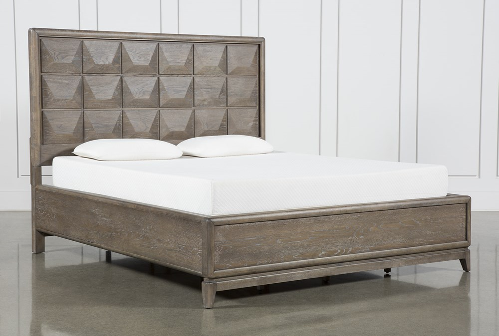 Pavilion Eastern King Panel Bed By Nate Berkus And Jeremiah Brent