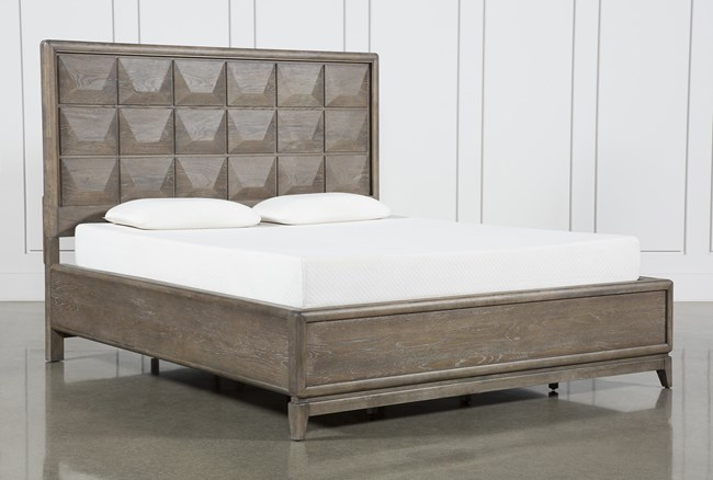Pavilion California King Panel Bed By Nate Berkus And Jeremiah Brent  - 360