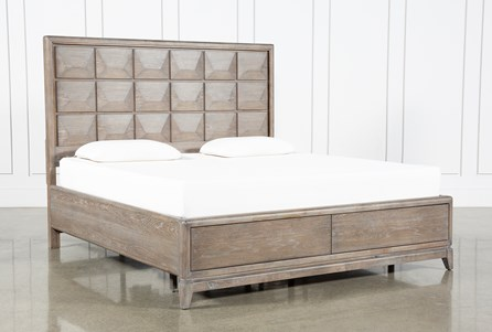Pavilion California King Panel Bed With Storage By Nate Berkus And Jeremiah Brent - Main