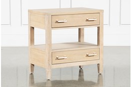 Gramercy Open Nightstand With USB By Nate Berkus And Jeremiah Brent