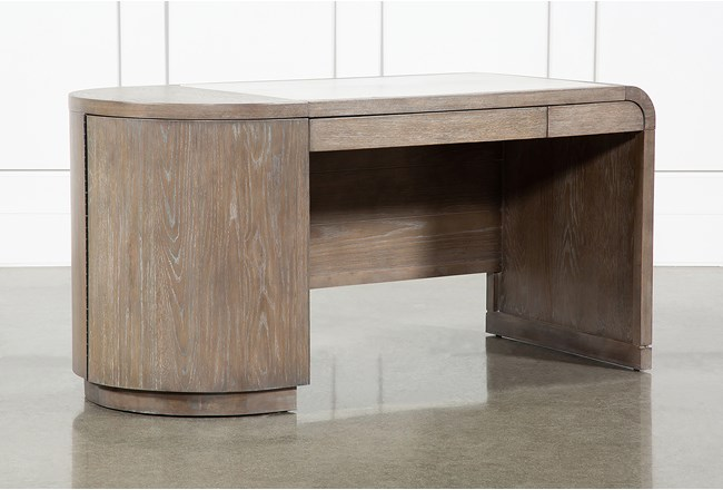 Pavilion Writing Desk With USB By Nate Berkus And Jeremiah Brent - 360