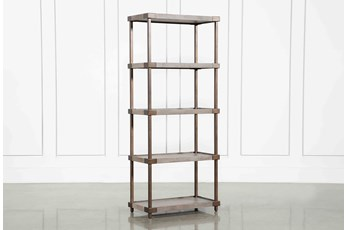 "Pavilion Open 72"" Bookshelf By Nate Berkus And Jeremiah Brent"