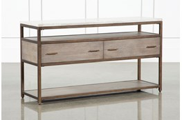 "Pavilion 54"" Sofa Table By Nate Berkus And Jeremiah Brent"