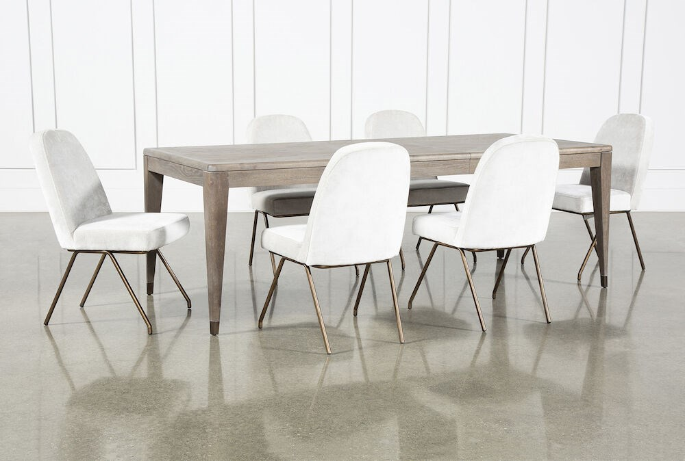 Pavilion 7 Piece  Rectangular Extension Dining Set With Host Chairs By Nate Berkus And Jeremiah Brent
