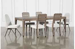 Pavilion 7 Piece  Rectangular Extension Dining Set With Host & Side Chairs By Nate Berkus And Jeremiah Brent