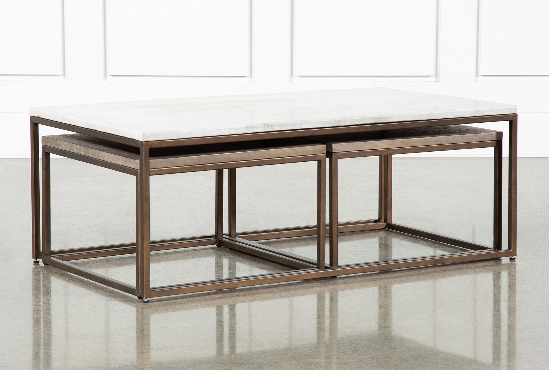 Pavilion Nesting Coffee Tables By Nate Berkus And Jeremiah B