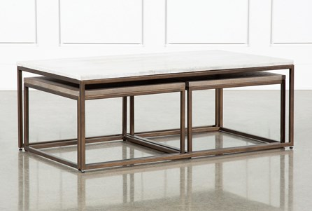 Pavilion Nesting Coffee Tables By Nate Berkus And Jeremiah Brent