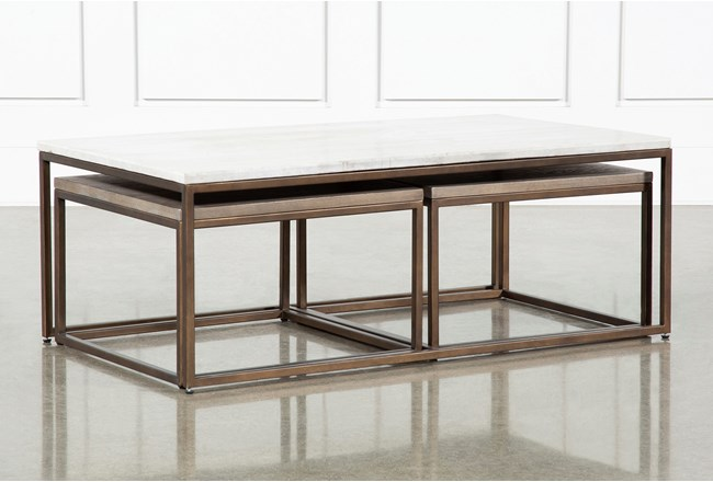 Pavilion Nesting Coffee Tables By Nate Berkus And Jeremiah Brent  - 360