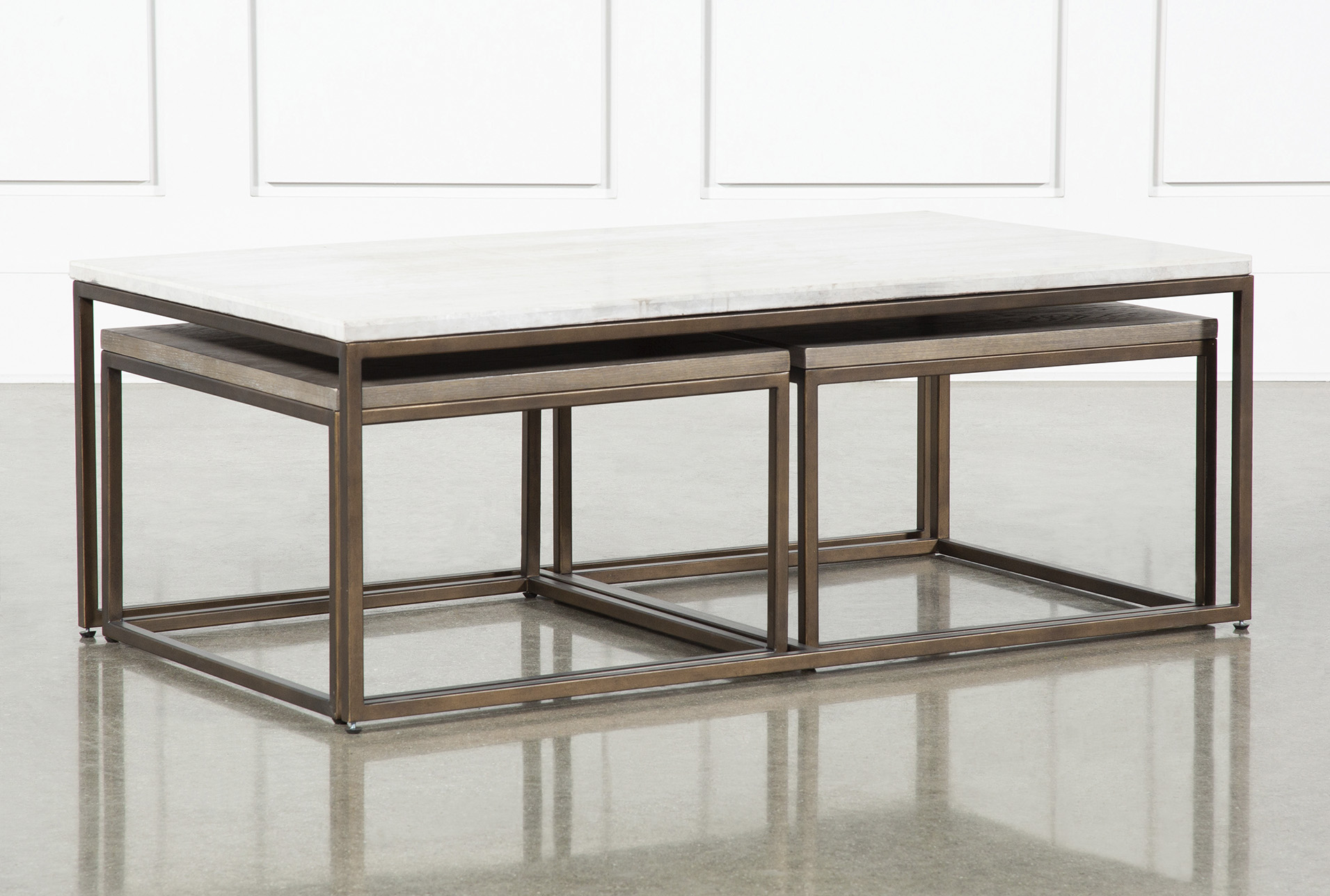 Bon Pavilion Nesting Coffee Tables By Nate Berkus And Jeremiah Brent (Qty: 1)  Has Been Successfully Added To Your Cart.