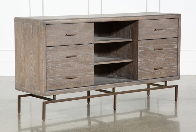 """Pavilion 66"""" Buffet By Nate Berkus And Jeremiah Brent  - 360"""