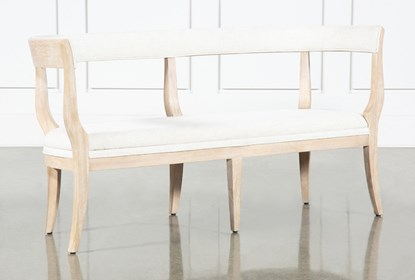 Amazing Gramercy Dining Bench By Nate Berkus And Jeremiah Brent Machost Co Dining Chair Design Ideas Machostcouk