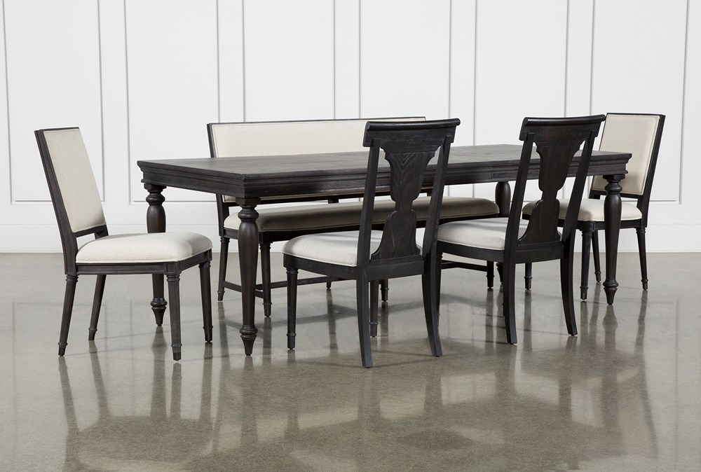 Galerie 6 Piece Rectangular Extending Dining Set With Host & Side Chairs By Nate Berkus And Jeremiah Brent