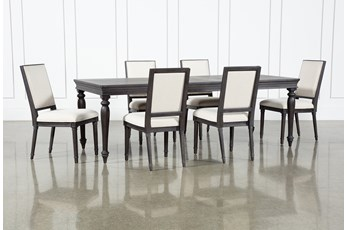 Galerie 7 Piece  Rectangular Ext Dining Set With Host Chairs By Nate Berkus And Jeremiah Brent