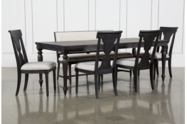 Galerie 6 Piece Rectangular Extending Dining Set With Side Chairs By Nate Berkus And Jeremiah Brent