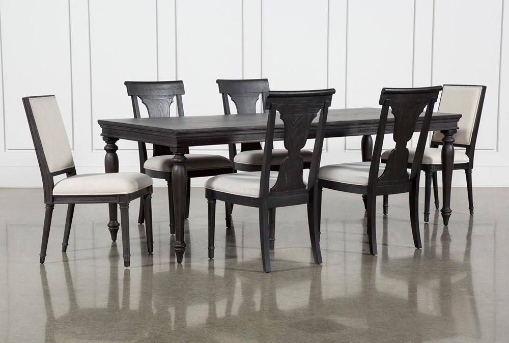 Galerie 7 Piece Rectangular Extending Dining Set With Host & Side Chairs By Nate Berkus And Jeremiah Brent