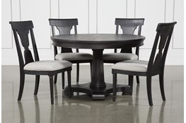 Galerie 5 Piece Round Dining Set With Side Chairs By Nate Berkus And Jeremiah Brent