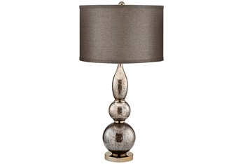 Table Lamp-Silver Gourd