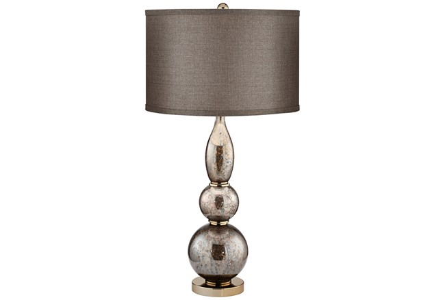 Table Lamp-Silver Gourd - 360