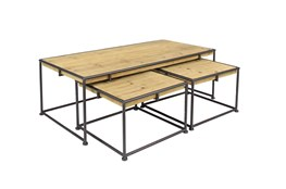 Monza 3 Piece Nesting Coffee Table