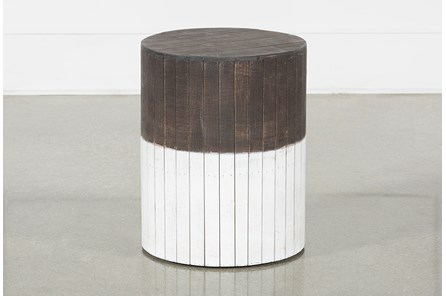 Wooden Round Stool - Main