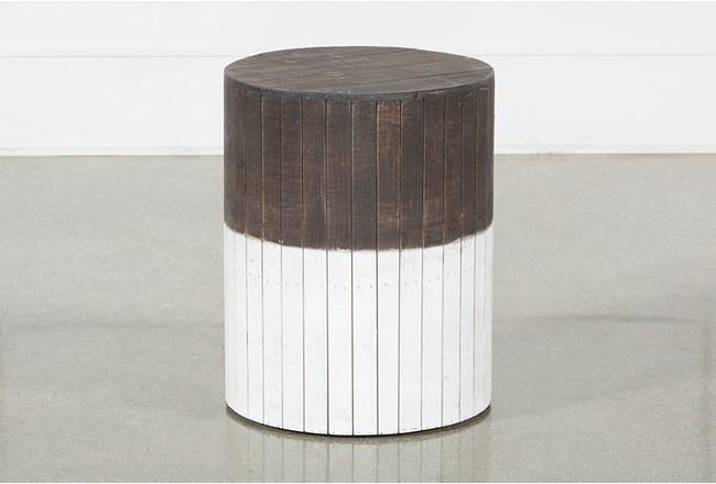 Wooden Round Stool - 360