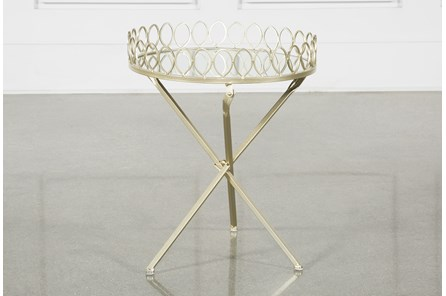 Tray Accent Table