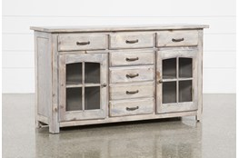 Jamestown Grey 62 Inch Cabinet