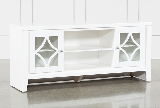 Century White 60 Inch Tv Stand - 360