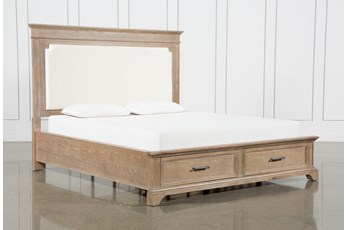 Whitney California King Panel Bed With Storage