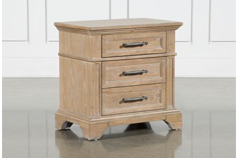 "Whitney 28"" Nightstand With USB"