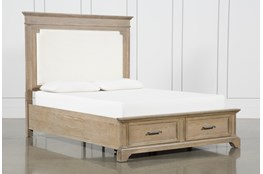 Whitney Queen Panel Bed With Storage