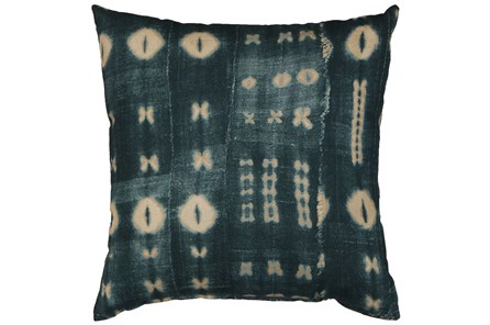 Accent Pillow-Indigo Mudcloth 18X18 - Main
