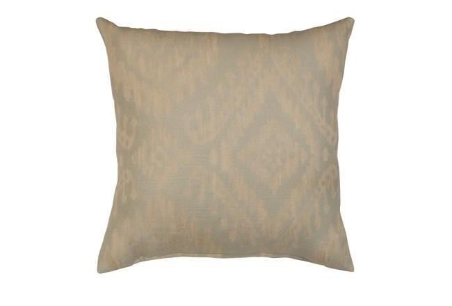 Accent Pillow-Ikat Light Blue 18X18 - 360