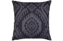 Accent Pillow-Ikat Dark Indigo 18X18