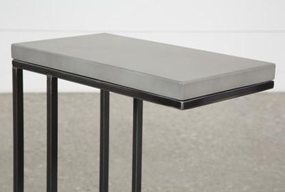 Amazing Niles Cement Chairside Table Uwap Interior Chair Design Uwaporg