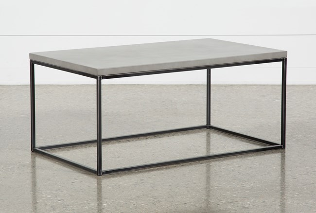 Niles Cement Coffee Table - 360
