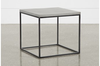 Niles Cement End Table
