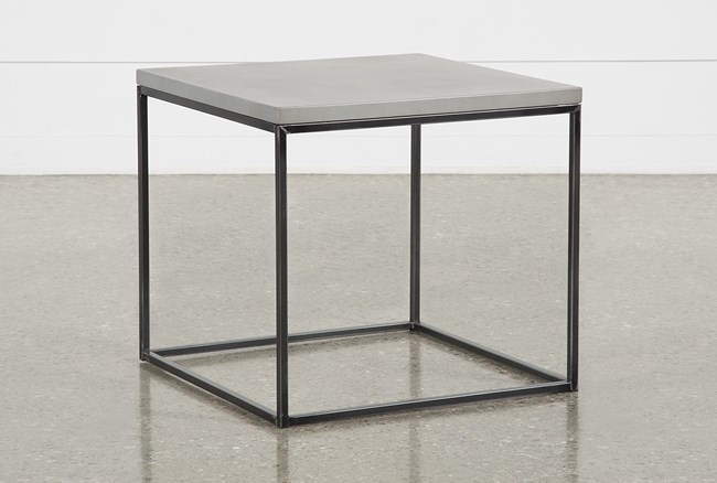 Niles Cement End Table - 360
