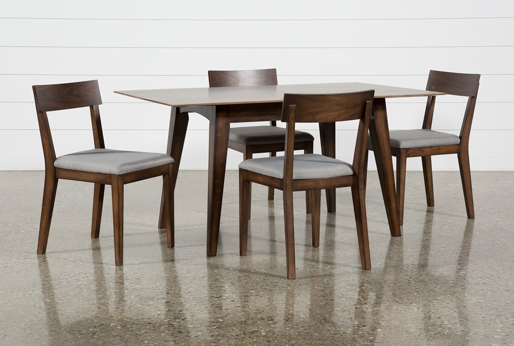 Rogers 5 Piece Rectangle Dining Set