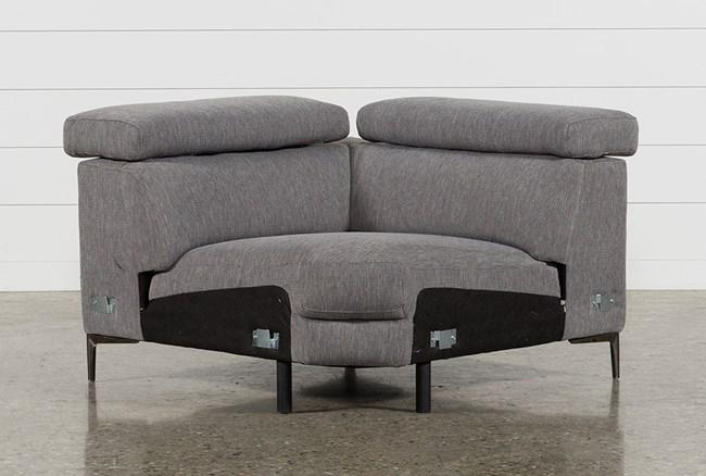 Talin Grey II Corner Wedge With Ratchet Headrest - 360