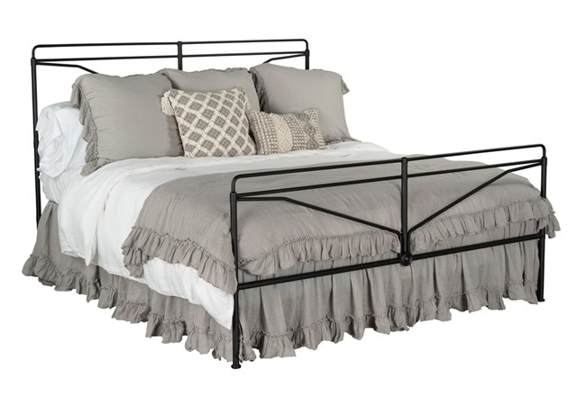 Magnolia Home Laverty Queen Metal Bed By Joanna Gaines  - 360